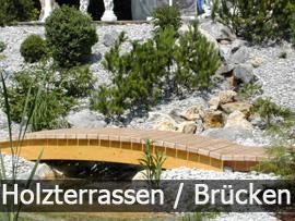 Holzterassen | Bavaria Teichbau
